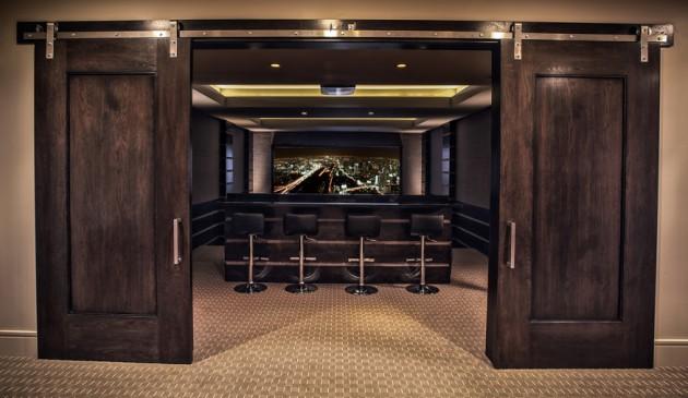 Custom theater room in Utah